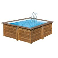 Piscina in legno PoolWood - 3,00 x 3,00 x h.1,19 m