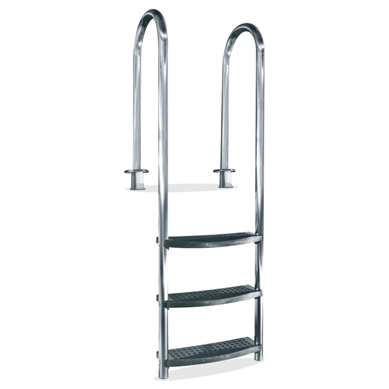 Scaletta per piscina interrata SLIM SPECIAL in acciaio Inox 316L