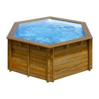 Piscina in legno PoolWood - Ø 2,95 x h 1,05 m