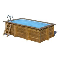 Piscina in legno PoolWood - 4,00 x 2,50 x h.1,19 m