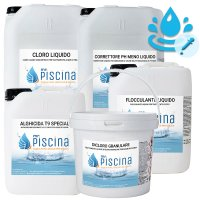 Kit PH e REDOX-CLORO CONTROL per Mantenimento acqua Piscina - da 55 a 100 mc