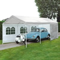 Gazebo da giardino in ferro PARKING 6 x 3 m