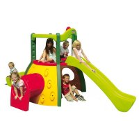 Piattaforma con scivoli e tunnel by Little Tikes