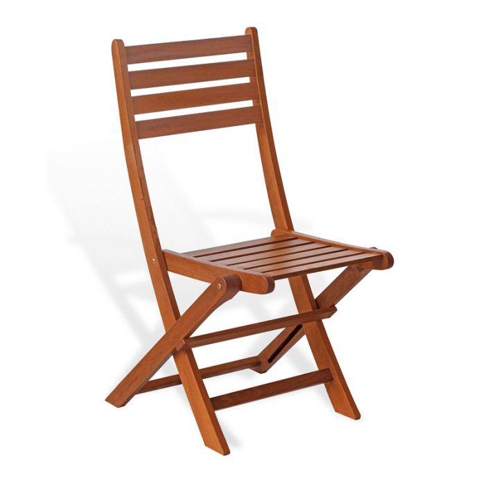 Sedie Per Esterno In Legno.Sedia Da Esterno In Legno Di Keruing Ciclamino Pieghevole
