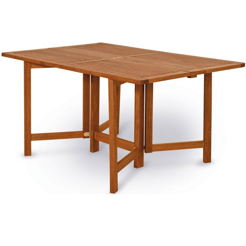 Tavolo Da Esterno In Legno Pieghevole.Tavolo Da Giardino In Legno Di Keruing Papavero Allungabile E