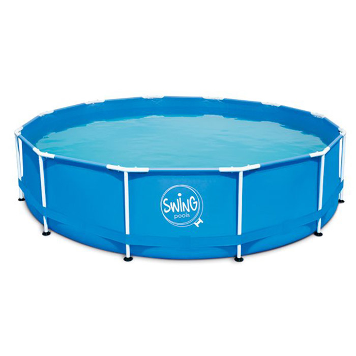 Piscina Fuori Terra SWING BLUE DESIGN Ø 3,05 x h.0,76 m