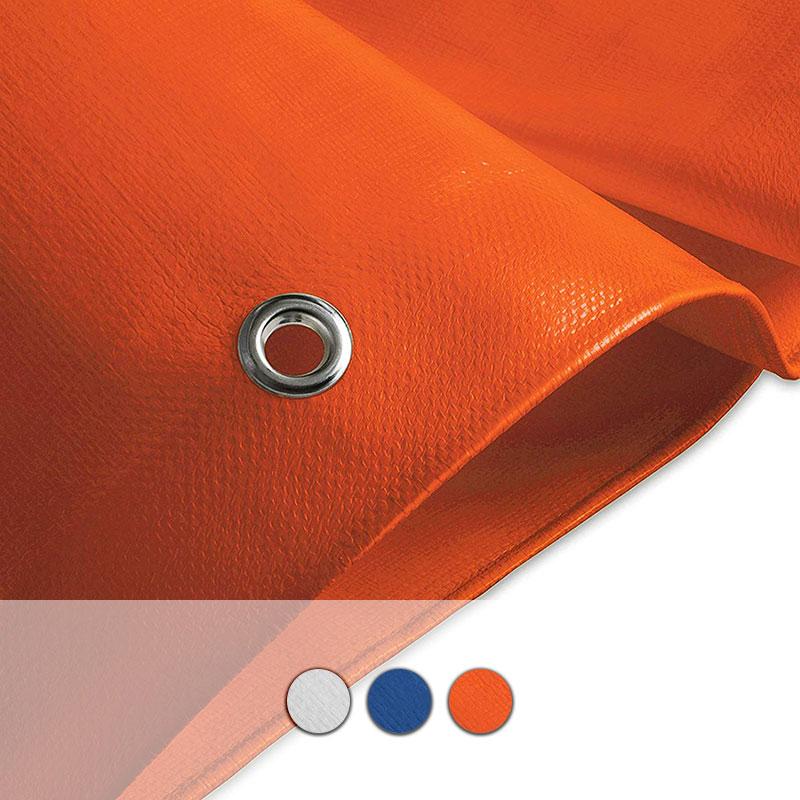 Telo Impermeabile Con Occhielli Da Esterno 240 G M Colorato Bsvillage Com