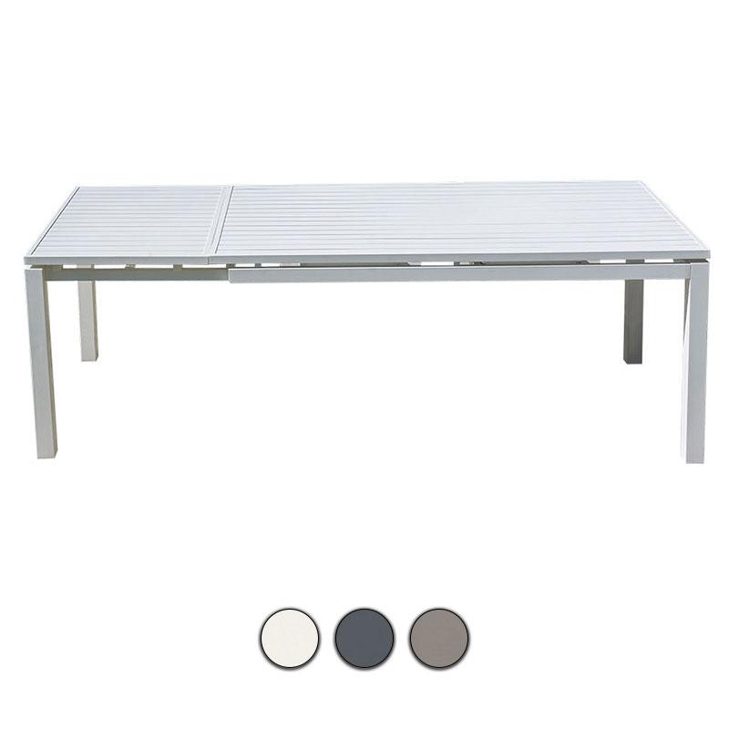 Tavolo Allungabile Da Giardino In Alluminio Ulisse Con Ruote Bsvillage Com