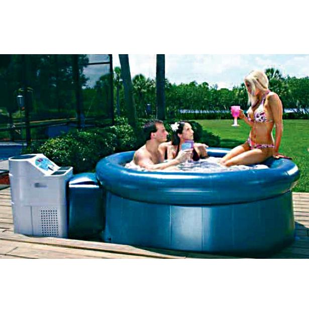 Vasca idromassaggio spa 295 x 195 x h 65 - Piscina spa gonfiabile ...