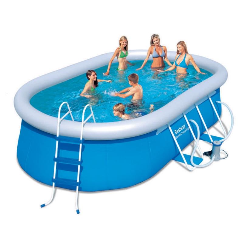 Piscina fuori terra bestway steel frame - Montaggio piscina bestway ...