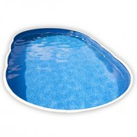 Piscina interrata AZURO 405DL ovale - 7,30 x 3,70 h 1.20 m