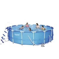 Piscina Bestway STEEL FRAME Ø 4,57xh.1,22 m - filtro a cartuccia