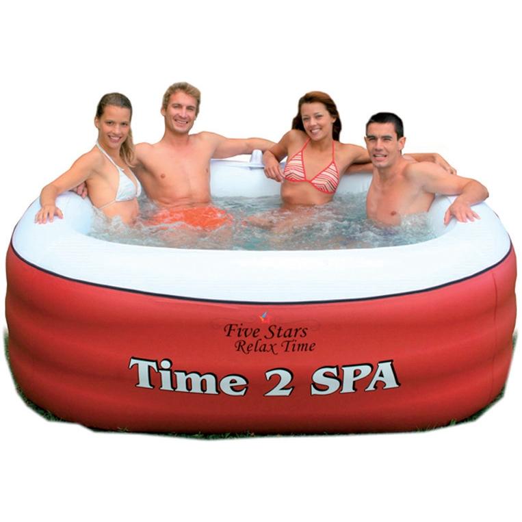 Piscina spa idromassaggio gonfiabile maxi confort 2 14 x 1 85 h 0 76m con riscaldamento 4 - Piscina spa gonfiabile ...