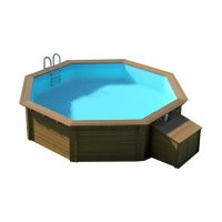 Piscina in Legno NaturalWood 240 - Ø 5,43 h1,33 m