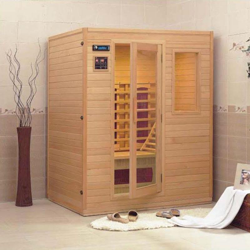 Sauna a Raggi Infrarossi in Legno a prezzo scontato  BSVillage.com