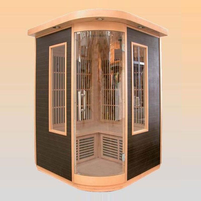 Sauna a Raggi Infrarossi con lampade in Fibra di Carbonio  BSVillage.com
