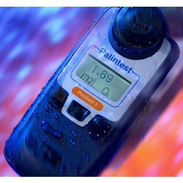 Fotometro digitale pooltest 3 misura cloro ph e acido cianurico - Misuratore ph piscina ...
