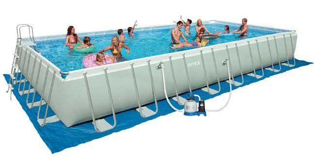 piscina intex ultra frame 9 75 x 4 88 h 1 32 m