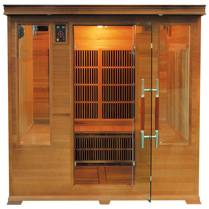 Sauna infrarossi in cedro rosso