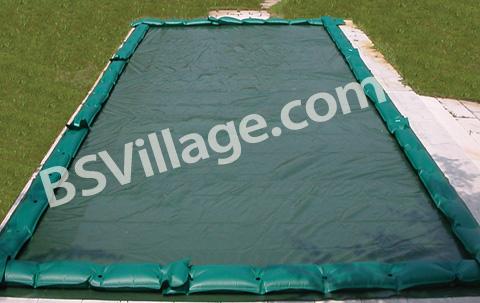 Copertura invernale per piscina poolcover con salsicciotti inclusi - Salsicciotti per piscina ...
