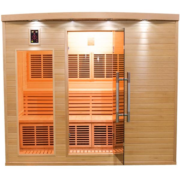 Sauna a raggi infrarossi in legno