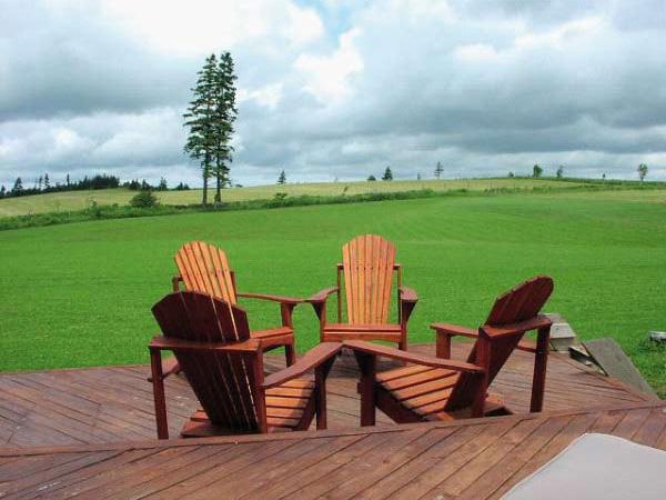 Listelli in legno da esterno