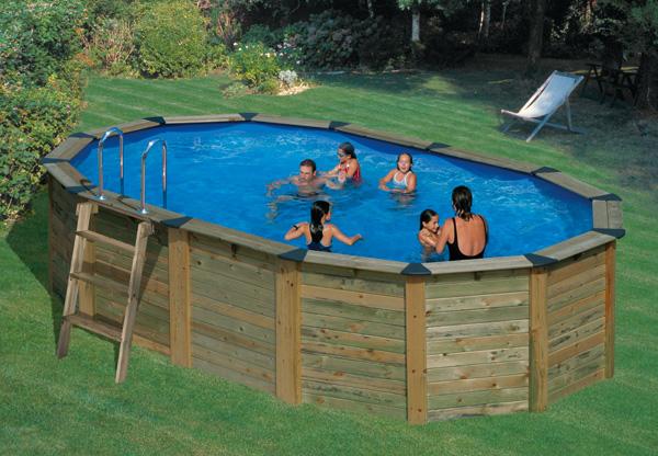 Piscina fuori terra gre nature pool serie island 745 - Tappeto per piscina fuori terra ...