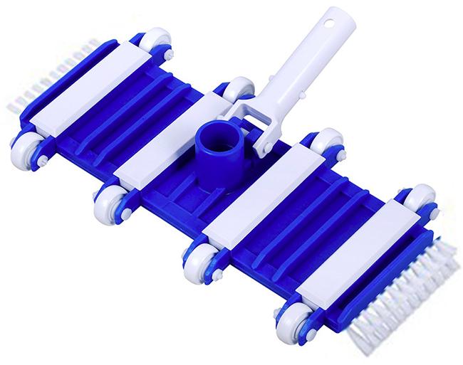 Pulitore con spazzole per piscina