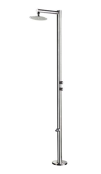 Doccia da esterno VENERE in acciaio 316L
