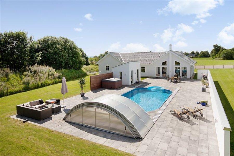 Copertura telescopica piscina KLASIK Albixon  BSVillage.com