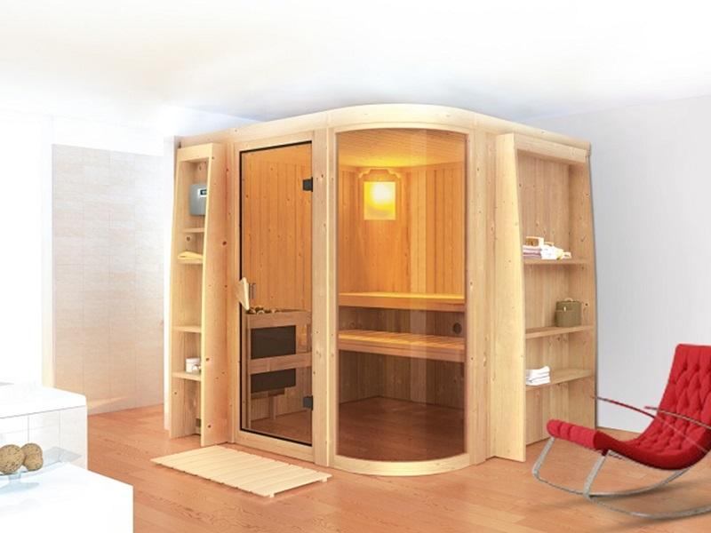 Sauna finlandese tradizionale Parima 2
