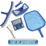 Accessori e kit di pulizia per piscina