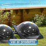 riscaldamento solare per piscina