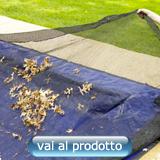 rete raccogli foglie per copertura piscina