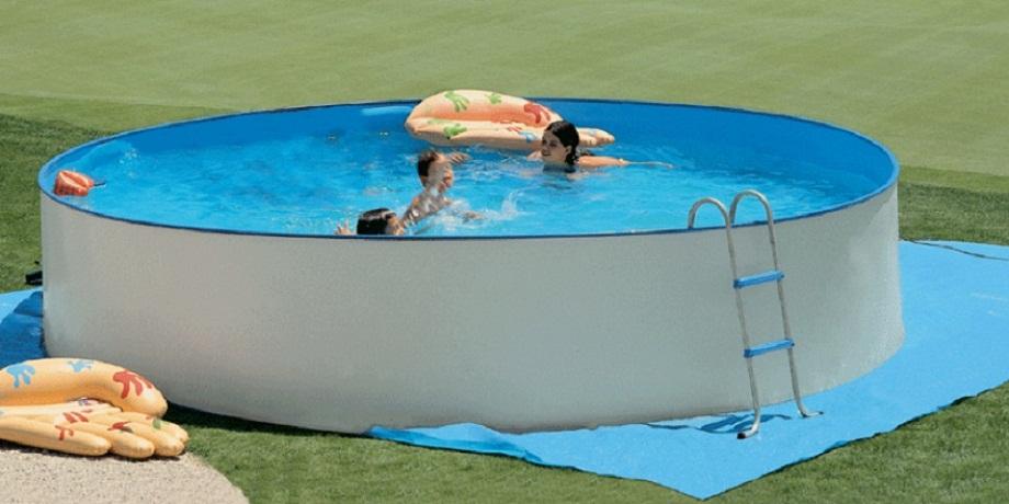 Tappetino di fondo in polietilene per piscine fantasy ovali 550 x 366 cm 8739 giardino e - Tappetino per piscina ...
