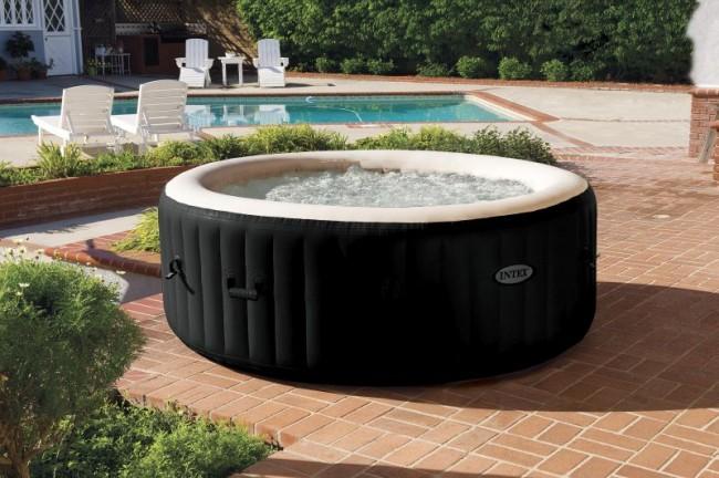 Piscina spa idromassaggio intex bubble terapy plus 6 for Riparare piscina