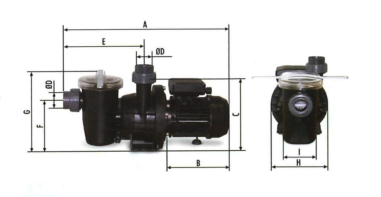 Pompa filtrazione piscina