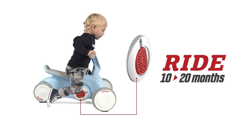 Go-Kart a spinta e pedali GO² by Berg Toys per bambini piccoli