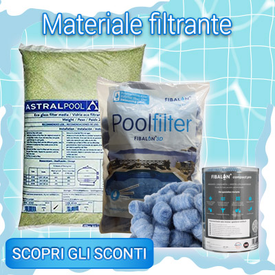 SALDI INVERNALI materiali filtranti