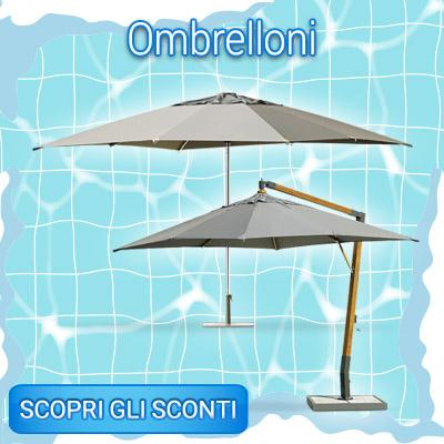 SALDI INVERNALI ombrelloni