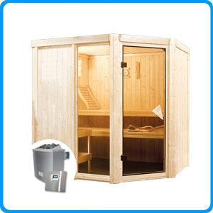 Sauna finlandese tradizionale FIONA2