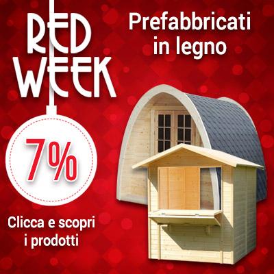 Red Week prefabbricati in legno