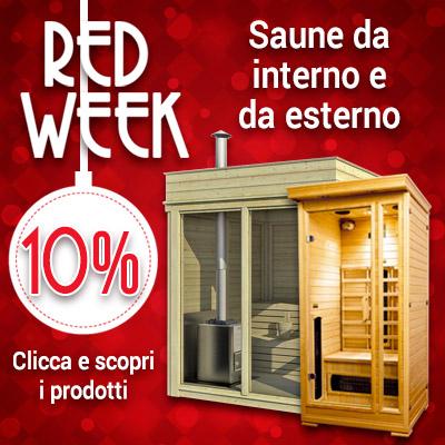 Red Week saune