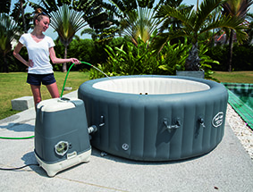 Piscina SPA Idromassaggio Gonfiabile Lay-Z MIAMI Bestway