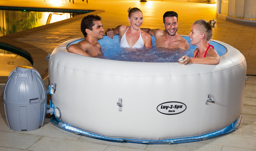 Piscina SPA Idromassaggio Gonfiabile Lay-Z PALM SPRING Bestway