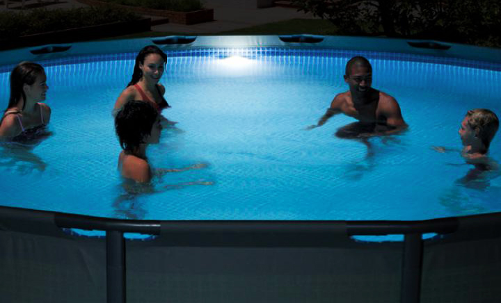 Lampada led magnetica Intex per piscine