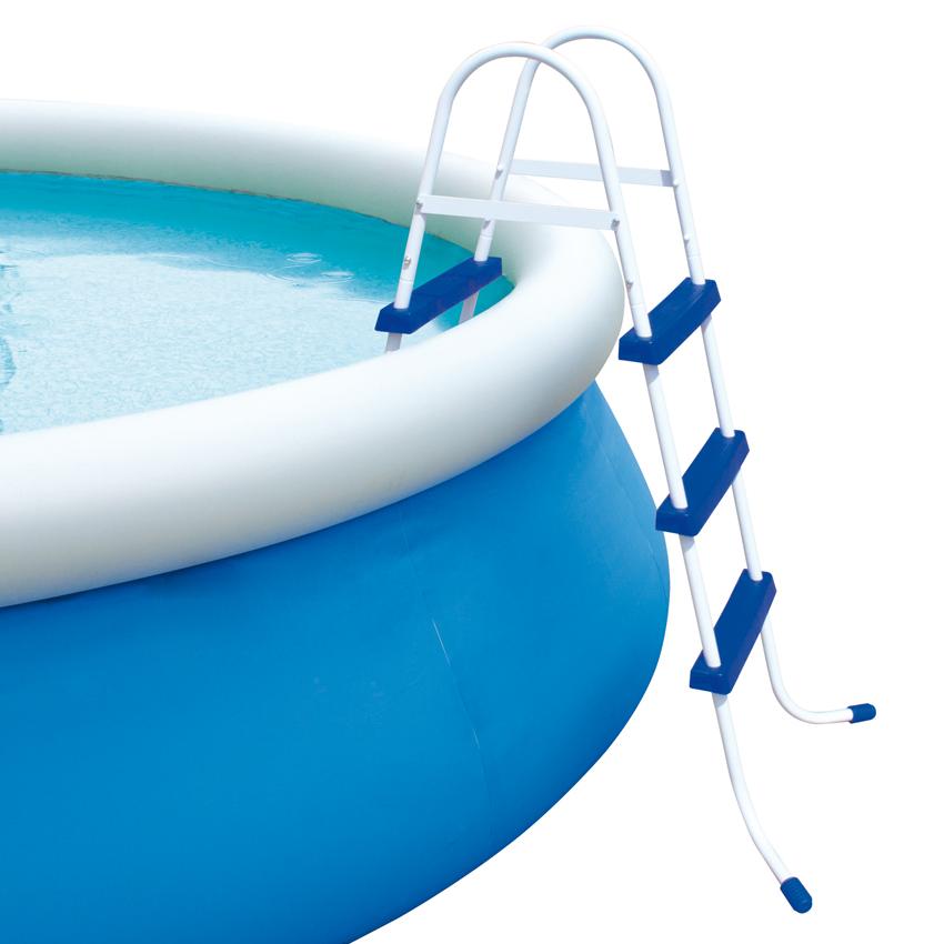 Scaletta per piscine fuori terra bestway h 107 cm 3 gradini - Scaletta per piscina fuori terra ...
