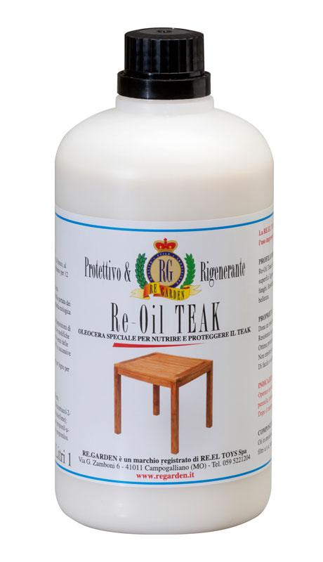 Olio per legno di teak Re-Oil by Regarden