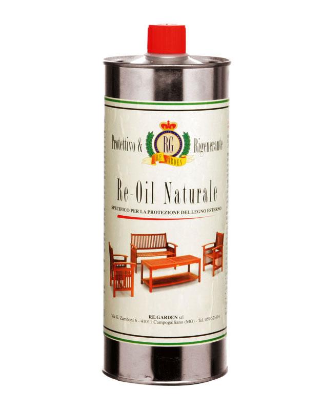 Re-Oil NATURALE legno di keruing by Regarden