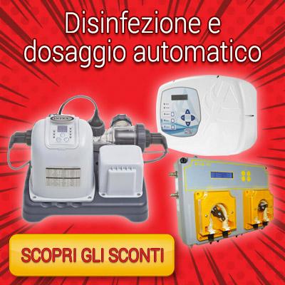 RED WEEK - disinfezione e dosaggio automatico